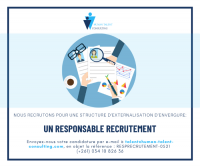 RESPONSABLE RECRUTEMENT (H/F)