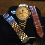 Montre Homme BREITLING Old Navy Timer en or