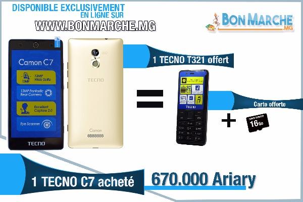 Photo 1 - Smartphone Tecno Camon C7