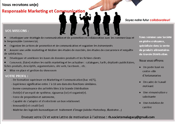 Photo 1 - Responsable Marketing et Communication