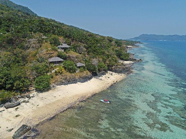 Photo 1 - Magnifique pavillons de plage sur Nosy Komba