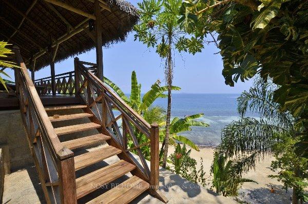 Photo 4 - Magnifique pavillons de plage sur Nosy Komba