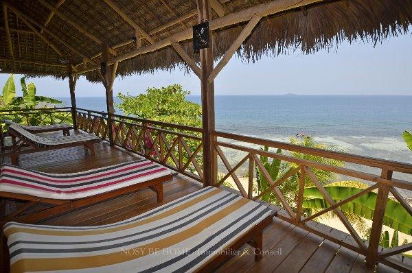 Photo 6 - Magnifique pavillons de plage sur Nosy Komba