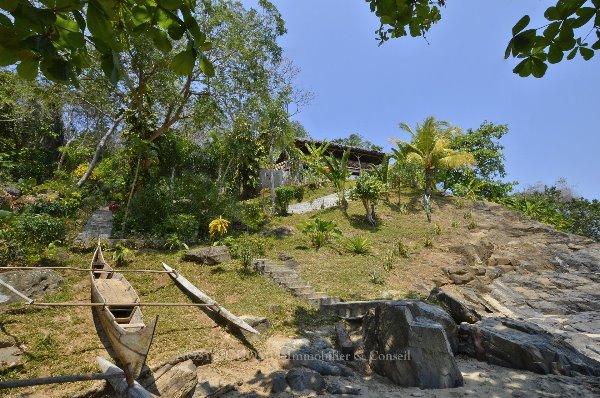 Photo 3 - Magnifique pavillons de plage sur Nosy Komba