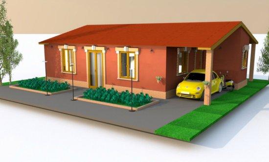 Villa basse traditionnelle f3 a vendre madagascar 5439 for Plan villa basse