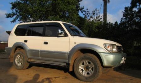 Location minibus 4×4 madagascar