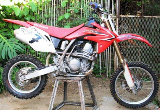 moto cross competition a vendre
