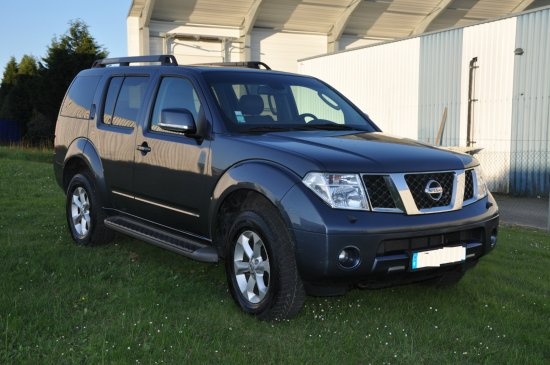 nissan pathfinder 2 5 dci 174 cv 12 2007 a vendre madagascar 7661. Black Bedroom Furniture Sets. Home Design Ideas
